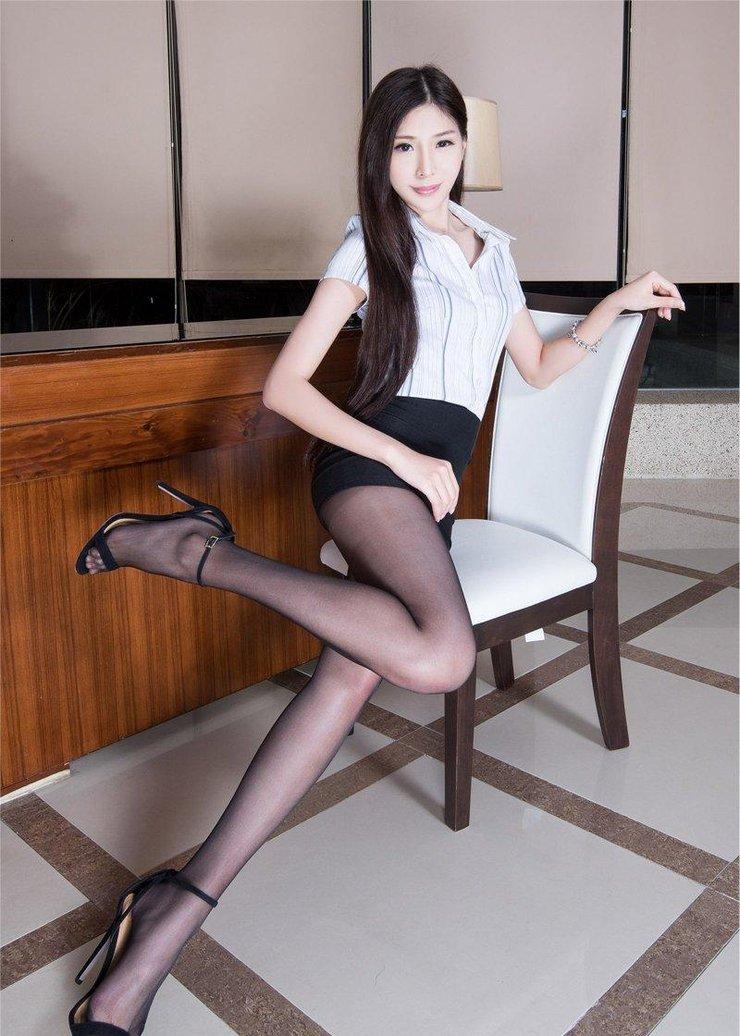 【高清图集】OL制服腿模高跟黑丝迷倒宅男心